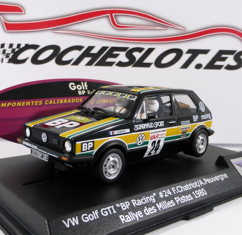 "VW Golf Gti "" BP Racing "" Nº24 Rallye Des Milles Pistes 1980 Ref. 0701503 SPIRIT"