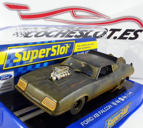 FORD XB FALCON NEGRO MATE MAD MAX. REF. H3983 SUPERSLOT