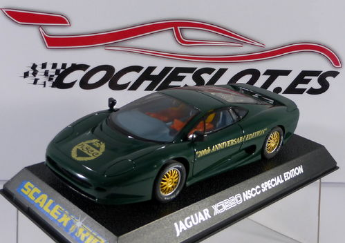 Jaguar XJ 220 NSCC 200th anniversary special edition SCALEXTRIC