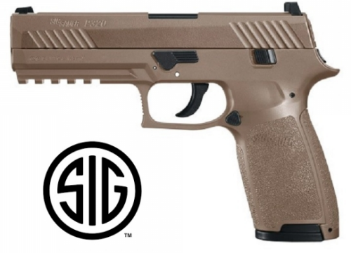 Sig Sauer P320 Tan CO2 - 4,5 mm Pellets