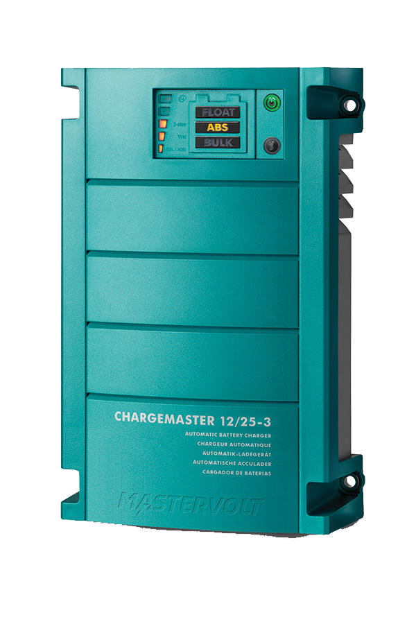 Battery charger ChargeMaster 12/25, 3 outlets, 3 X 25A