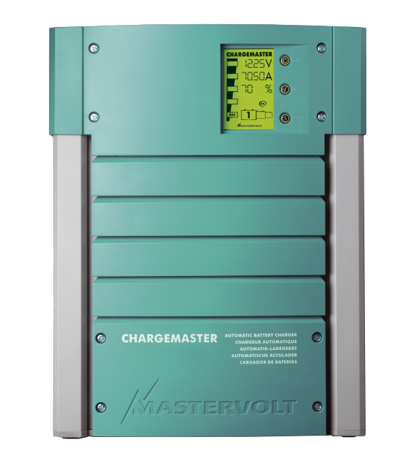 Battery charger ChargeMaster 12/70, 3 outlets,1X70A,2X10A
