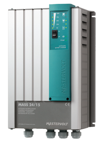 Battery charger Mass Series 24/15, Masterbus