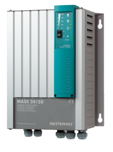 Battery charger Mass Series 24/50, Masterbus