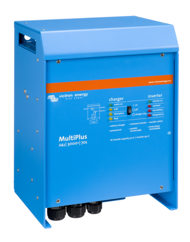 INVERTER MULTIPLUS 24/3000/70-16, 24V 3000VA