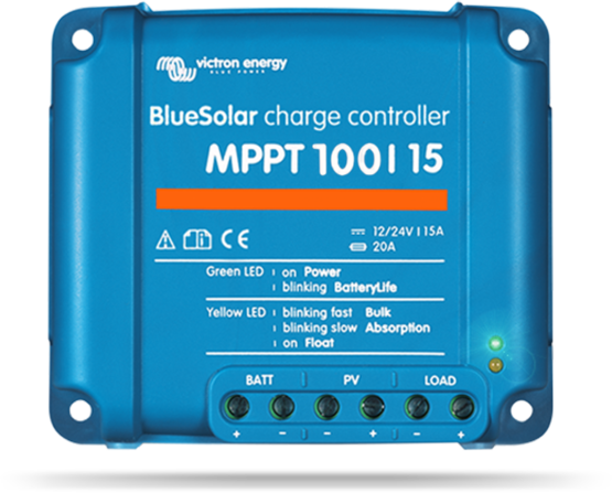 REGULATOR BLUESOLAR MPPT 100/15 (12/24-15A)