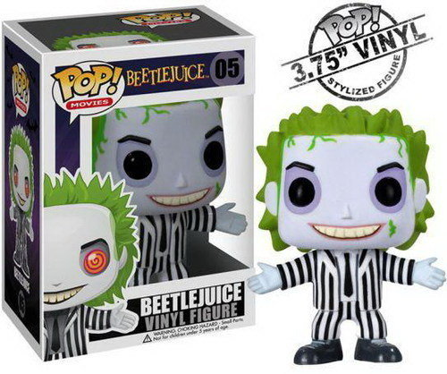 FIGURA POP MOVIES VINILO: BEETLEJUICE