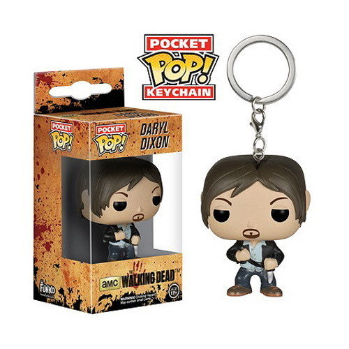 LLAVERO POP WALKING DEAD DARYL 4 CMS