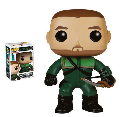 OLIVER QUEEN FIGURA 10 CM VINYL POP ARROW