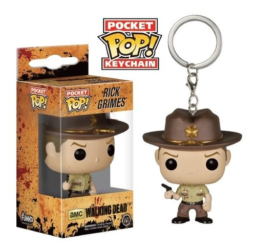 LLAVERO POCKET: BLOODY RICK GRIMES