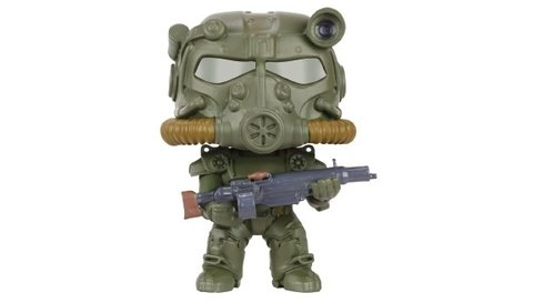FIGURA POP FALLOUT 4: ARMY GREEN T-60 POWER ARMOR