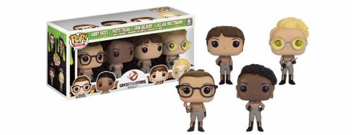 FIGURA POP GHOSTBUSTERS 2016: PACK ESPECIAL