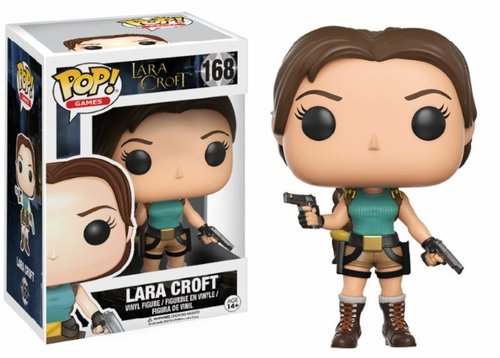 FIGURA POP TOMB RAIDER: LARA CROFT