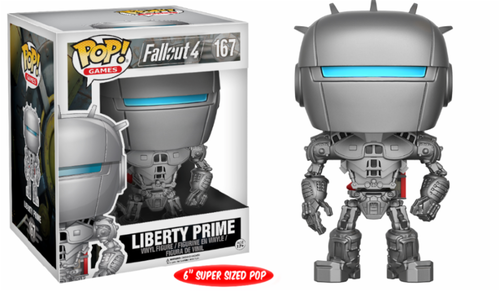 FIGURA POP FALLOUT 4: LIBERTY PRIME OVERSIZED