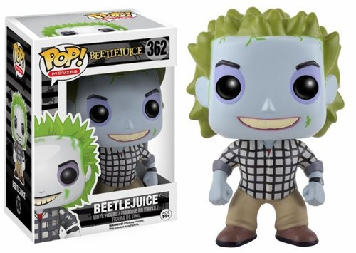 FIGURA POP BEETLEJUICE: BEETLEJUICE PLAID SUIT