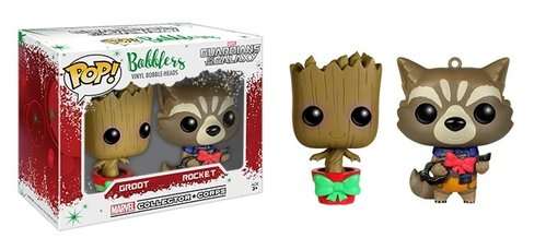 FIGURA POP MARVEL COLLECTOR CORPS: ROCKET AND GROOT MINI 2 PACK