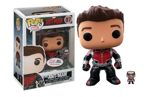 FIGURA POP MARVEL COLLECTOR CORPS:ANT-MAN UNMASKED