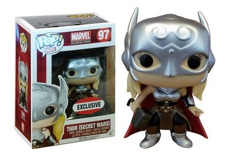FIGURA POP MARVEL COLLECTOR CORPS: LADY THOR SECRET WARS