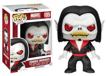 FIGURA POP MARVEL COLLECTOR CORPS: ZOMBIE MORBIUS