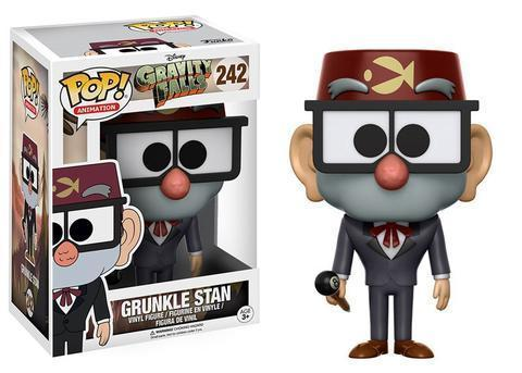 FIGURA POP GRAVITY FALL: TIO ABUELO STAN