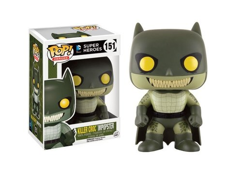 FIGURA POP IMPOPSTERS: BATMAN / KILLER CROC
