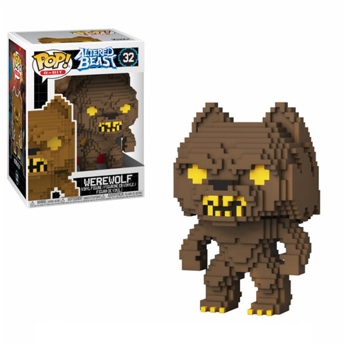 FIGURA POP 8 BITS: ALTERED BEAST WEREWOLF