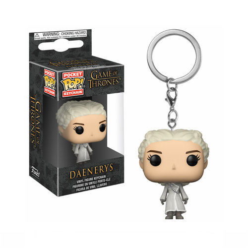 LLAVERO POCKET GOT: DAENERYS WHITE COAT