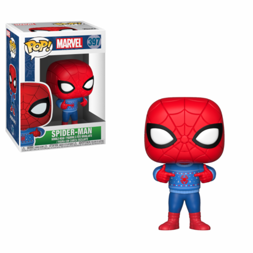 FIGURA POP MARVEL: SPIDER-MAN WITH UGLY SWEATER