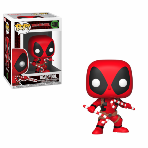 FIGURA POP MARVEL: DEADPOOL WITH CANDY CANES