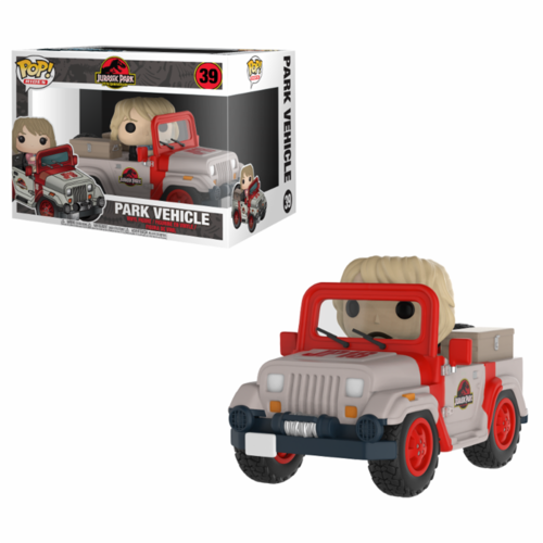 FIGURA POP JURASSIC PARK: PARK VEHICLE RIDES