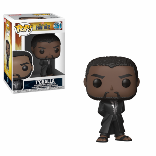 FIGURA POP BLACK PANTHER: T´CHALLA BLACK ROBE
