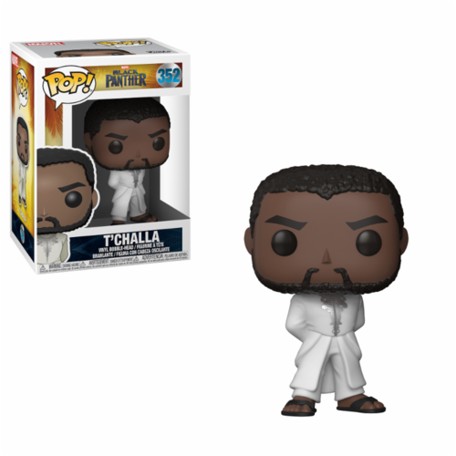 FIGURA POP BLACK PANTHER: T´CHALLA WHITE ROBE