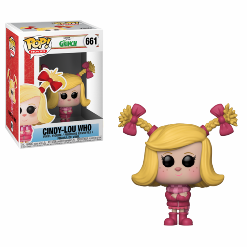 FIGURA POP THE GRINCH MOVIE: CINDY-LOU WHO