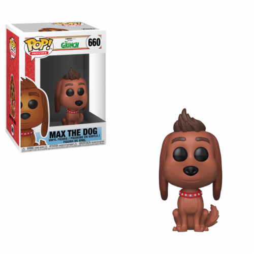 FIGURA POP THE GRINCH MOVIE: MAX THE DOG