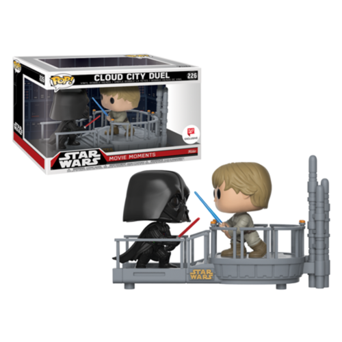 FIGURA POP STAR WARS: DARTH VADER AND LUKE MOVIE MOMENTS