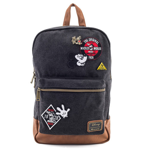 MOCHILA LOUNGEFLY DISNEY: MICKEY DENIM