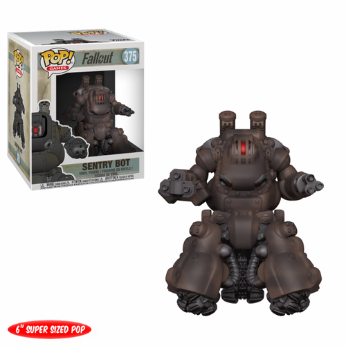 FIGURA POP FALLOUT: SENTRY BOT OVERSIZED