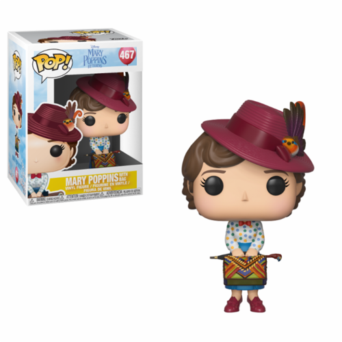 FIGURA POP MARY POPPINS RETURNS: MARY POPPINS WITH BAG