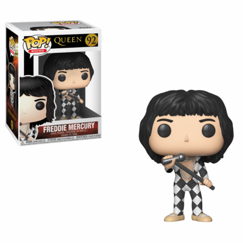 FIGURA POP ROCKS: QUEEN NEW HAVEN FREDDIE MERCURY