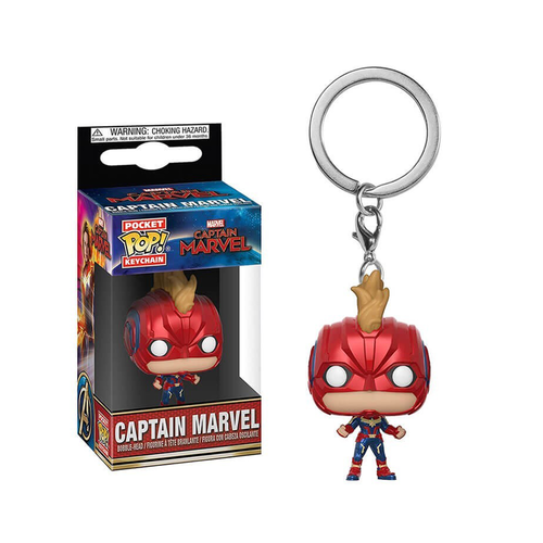 LLAVERO POCKET CAPTAIN MARVEL: CAPTAIN MARVEL WITH HELMET