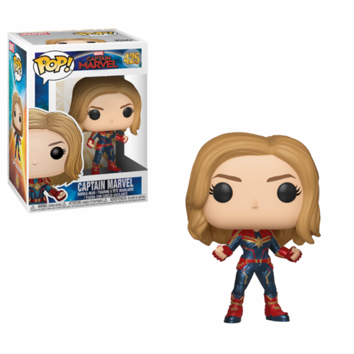 FIGURA POP CAPTAIN MARVEL: CAPTAIN MARVEL