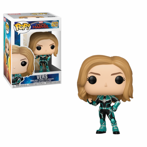 FIGURA POP CAPTAIN MARVEL: VERS