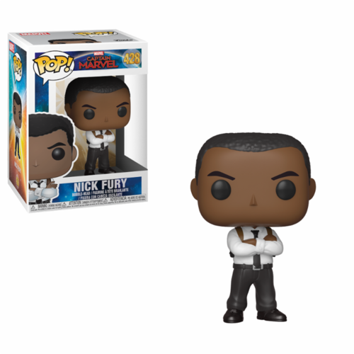 FIGURA POP CAPTAIN MARVEL: NICK FURY