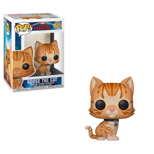 FIGURA POP CAPTAIN MARVEL: GOOSE THE CAT