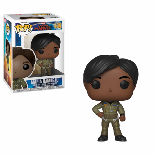 FIGURA POP CAPTAIN MARVEL: MARIA RAMBEAU