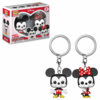 PACK LLAVERO POCKET: MICKEY Y MINNIE