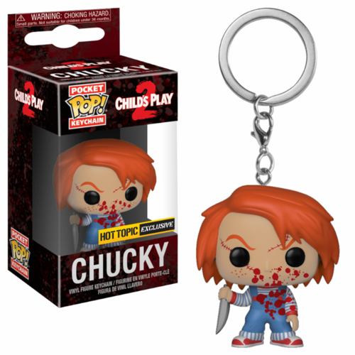 LLAVERO POCKET: CHUCKY BLOODY