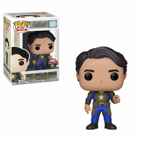 FIGURA POP FALLOUT: VAULT DWELLER MALE WITH MENTATS