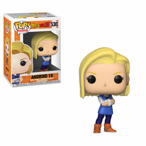 FIGURA POP DRAGON BALL Z: ANDROID 18