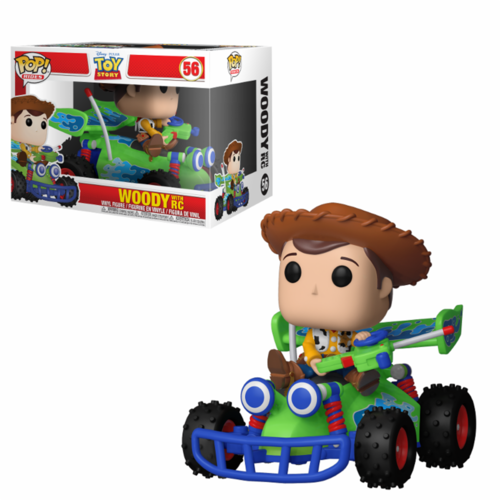 FIGURA POP TOY STORY: WOODY WITH RC RIDES